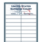 Supreme Court Justices Graphic Organizer