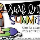 Surf Into Summer {16 Hands-On Math Tub Activities for May/June}