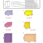 Surface Area Of Rectangular Prisms Packet