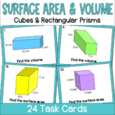 Surface Area and Volume of Cubes and Rectangular Prisms- T
