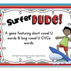 Surfer Dude - A Long U CVCe Game