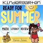 Surfin into Summer! Activities for Kindergarten with ELA &