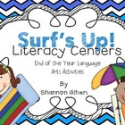 Surf&#039;s Up!: Literacy Centers for the End of the Year!