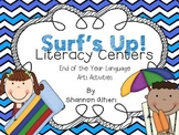 Surf's Up!: Literacy Centers for the End of the Year!