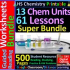 Surviving Chemistry: A  Workbook for HS Chemistry (Digital