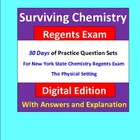 Surviving Chemistry Regents Exam: Questions for Exam Pract
