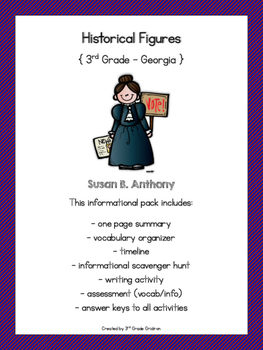 Susan B. Anthony Activities
