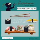 Sushi *FREE* Clip Art