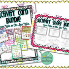 Swallowed Bundle- Activity Cards and Activity Pages