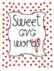 Sweet CVC Words