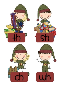 Sweet Candy Sorting Phonics Pack - Holiday Theme