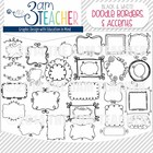 Sweet Doodles: Frames, Borders, Lines &amp; Accents
