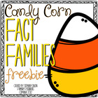 Sweet Facts!  Free Fact Family Activity