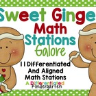 Sweet Ginger Math Stations Galore-7 Stations Differentiate