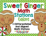 Sweet Ginger Math Stations Galore-11 Stations Differentiat