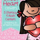 Sweet Heart Centers-Valentine's Day Centers & Activities {