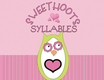 Sweet 'Hoots' Syllables - Valentine's Day owl center