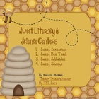 Sweet Literacy &amp; Science Centers - 4 honeybee themed centers!