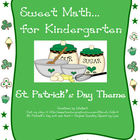 Sweet Math for Kindergarten (St. Patrick's Day theme)