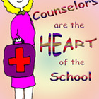 Sweet Poster for School Counselors: Elementary, Middle, Hi