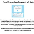Sweet Science: Simple Experiments with Candy