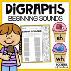 Sweet Scoops - Beginning Digraph Sort {Ch, Sh, Th, Wh}