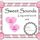 Sweet Sounds Long Vowel Word Sort