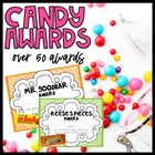 Sweet Students Candy Themed End of Year Awards {customizab