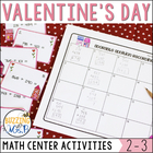 Sweet Stuff: Valentine's Day Math Centers