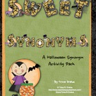 Sweet Synonyms (A Halloween Activity that meets Common Cor