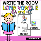 Sweet Treats Read and Write the Room (-ee, -ea)