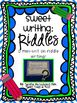 Sweet Writing: Riddles {A Mini-Unit on Riddle Writing}