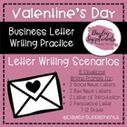 Sweetheart Business Letter Scenarios - Valentine&#039;s Day The