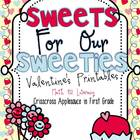 Sweets For Our Sweeties ~ Valentine's Printables {Math & L