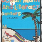 Swimming Ocean Math and Literacy Centers