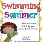 Swimming into Summer! End of year Math &amp; Literacy Activities!