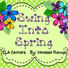 Swing Into Spring {ELA Centers &amp; Activities}