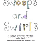 Swoops and Swirls Lettering