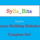 SyllaBits Fluency Building Syllable Slideshows Complete Set