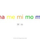 SyllaBits Spanish Ma, me, mi, mo, mu Syllable Slideshow Si