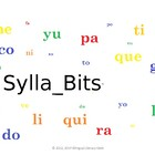 SyllaBits Spanish Silabas Ba, be, bi, bo, bu Syllable Slid