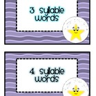 Syllable: Assessments, Games, and Worksheets