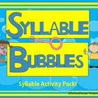 Syllable Bubbles Activity Pack