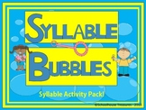 Syllable Bubbles Bundle!