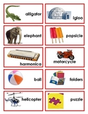 Syllable Game (cards and worksheet)