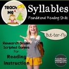 Syllable Games: Common Core Essential