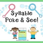Syllable Poke & See