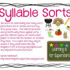 Syllable Sorts