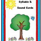 Syllable and Sound Cards