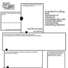 Symbolism Flow Chart / Graphic Organizer